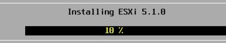Installing ESXI 5.1.0