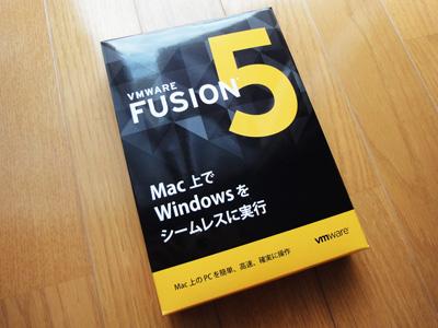 VMware Fusion 5 外箱