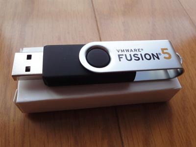 VMware Fusion USB と箱