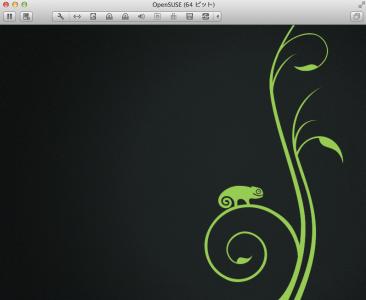 openSUSEインストール停止
